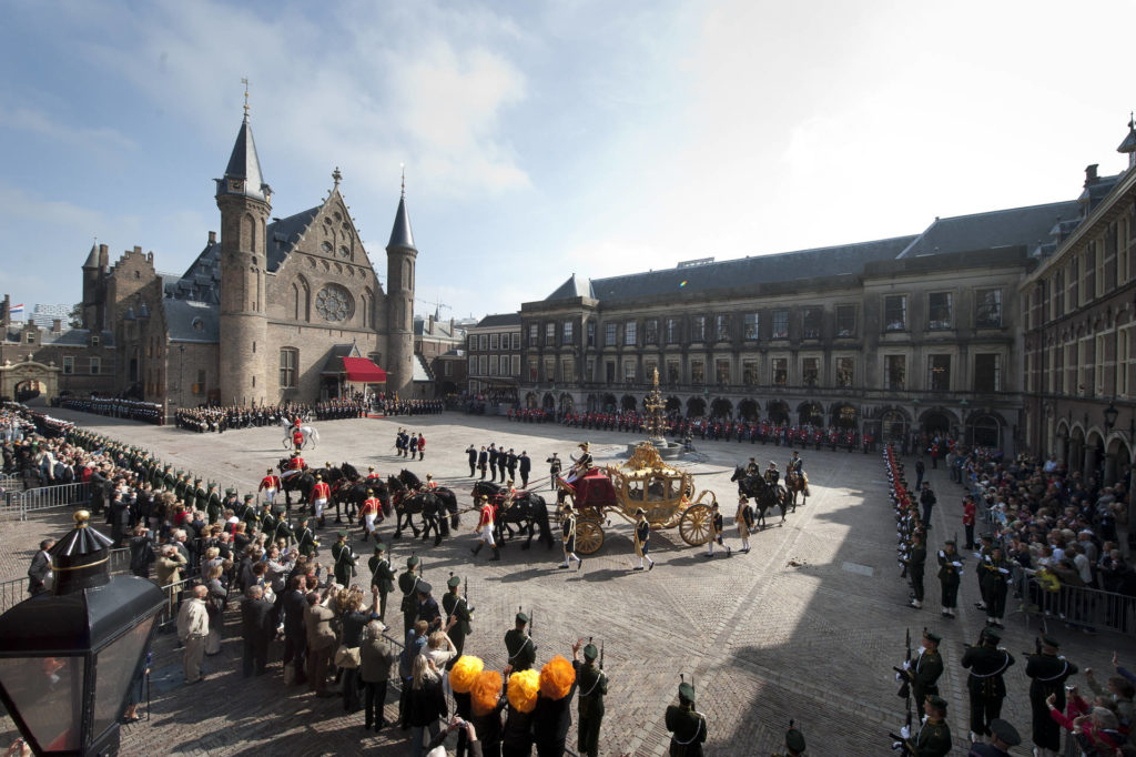 The Binnenhof with the Golden Carriage